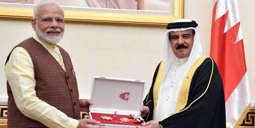 عالیترین نشان بحرین به نخستوزیر هند اعطا شد