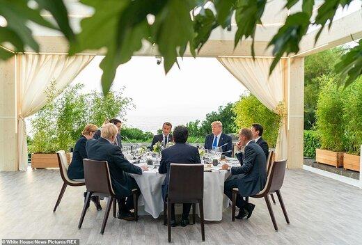 فیلم | عکس یادگاری رهبران جهان در اجلاس جی7 در بیاریتز فرانسه