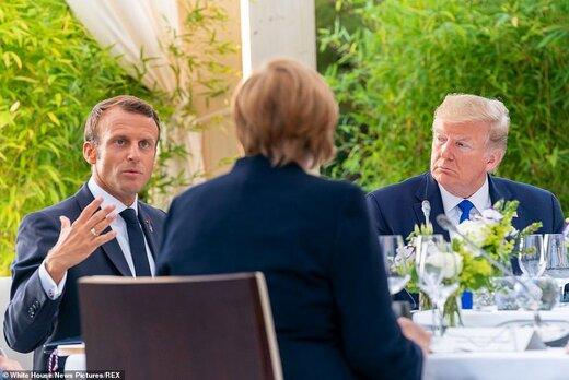 مقامات آمریکا: فرانسه در تلاش برای انزوای ترامپ در گروه ۷ است