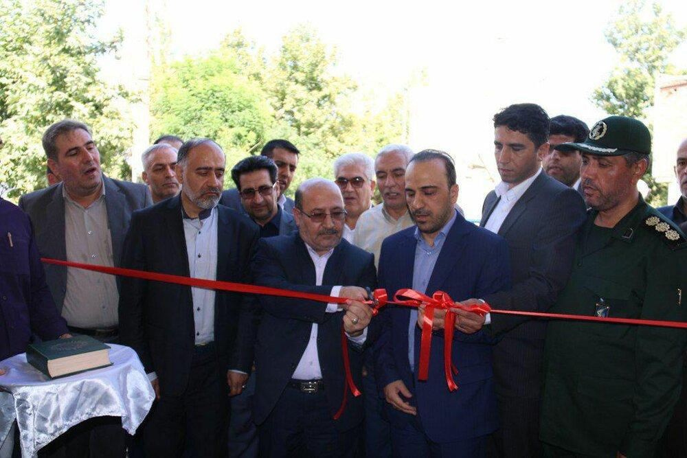 افتتاح بخشداری فیرورق خوی