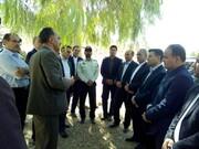 بهره برداری از پروژه های آبخیزداری رومشکان با حضور معاون سیاسی استانداری
