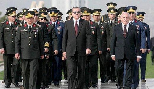 استعفای 5 ژنرال ارشد ارتش ترکیه/ ارتش کوچک می شود؟