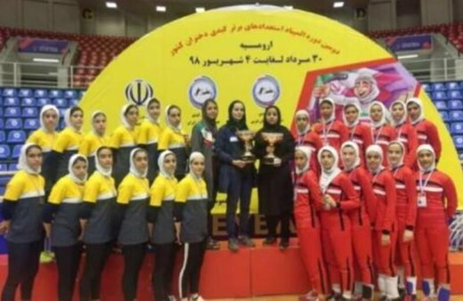 کسب مقام سومی تیم کبدی البرز در استعدادهای برتر
