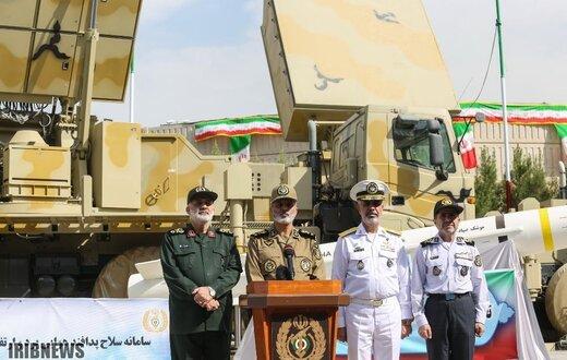 بازدید فرمانده کل ارتش از سامانه باور373