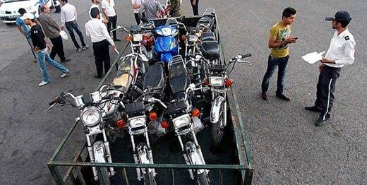 ساماندهی توقفهای حاشیهای موتورسیکلت در معابر تهران