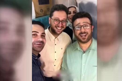 فیلم | بشیر حسینی «عصر جدید» و بدلش روبرو شدند