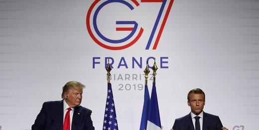 مکرون: برای دیدار ترامپ و روحانی تلاش میکنیم/ ترامپ: ایران موشک بالستیک نداشته باشد