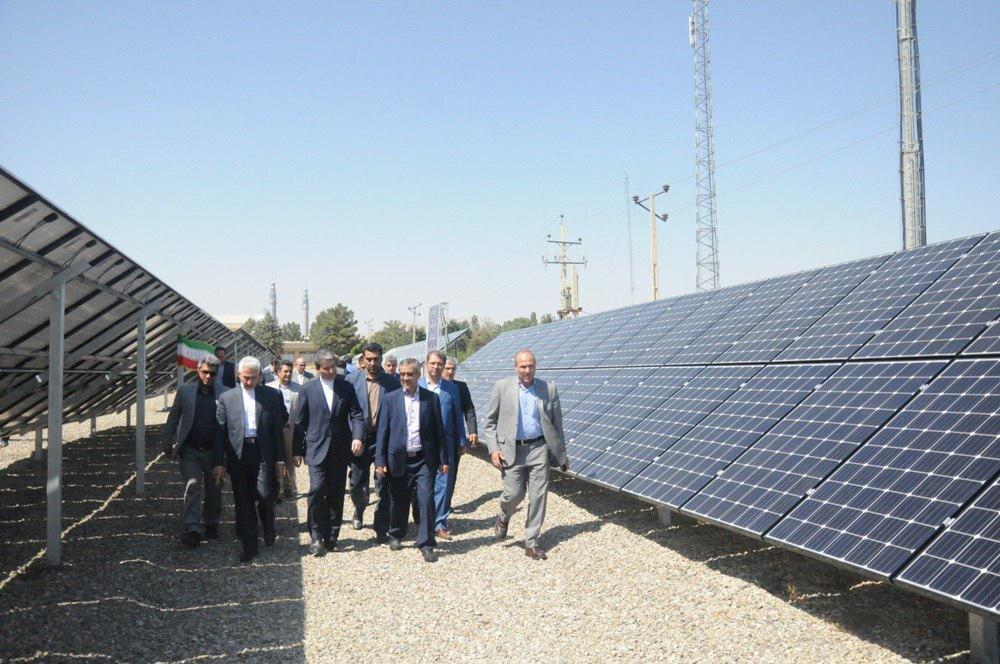 نیروگاه خورشیدی  ۴۰۰ کیلوواتی دانشگاه ارومیه