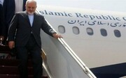 Zarif arrives in Tokyo to meet Japanese officials