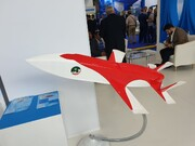 ايران تزيح الستار عن طائرة مسيرة جديدة في معرض مکس 2019 الروسی