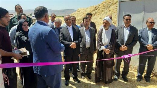 افتتاح یک واحد گاوداری شیری صنعتی در کوهدشت