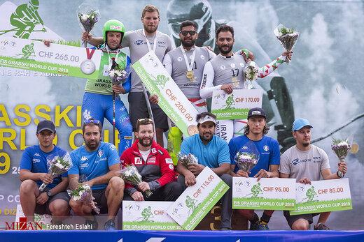رقابتهای جام جهانی اسکی روی چمن در پیست بینالمللی دیزین