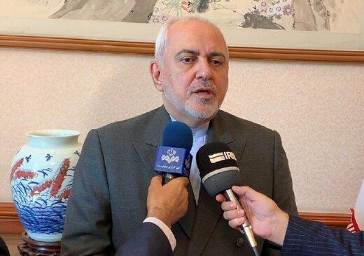 فیلم | واکنش ظریف به تحریمهای جدید آمریکا علیه ایران