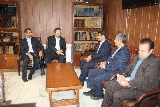 دیدار رئیس کل دادگستری استان البرز از حوزه قضایی نظرآباد