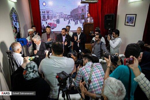 رونمایی از سردیسهای هنرمندان در شهرک سینمایی ایران