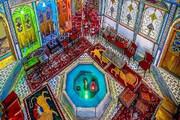 عکس | خانهای پر از رنگ و نور در اصفهان