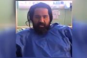 فیلم | توضیحات رضا صادقی درباره جراحی روی پای شکستهاش