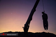 تصاویر | لحظه اعدام قاتل امام جمعه کازرون