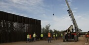 پنتاگون با ساخت 32 کیلومتر از دیوار مرزی مکزیک موافقت کرد
