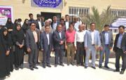 بهره برداری از خانه بهداشت بانک تجارت در روستای سرخنگی شمیل