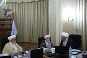 آیتالله یزدی و آملی لاریجانی در جلسه امروز شورای نگهبان +عکس