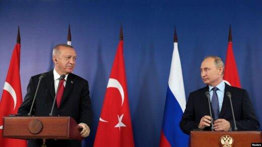 در کنفرانس خبری روسای جمهور ترکیه و روسیه چه گذشت؟