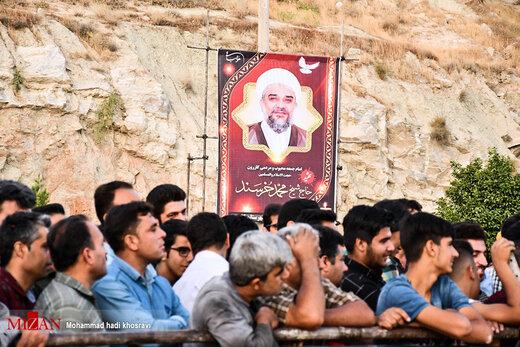 اجرای حکم قصاص قاتل امام جمعه شهرستان کازرون