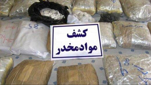 کشف بیش از ۴ تن از انواع مواد مخدر در هرمزگان