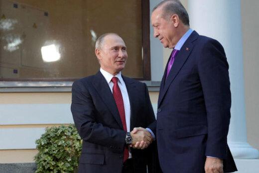 فیلم | معامله میلیون دلاری پوتین و اردوغان با چاشنی بستنی وانیلی