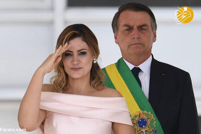 عکس جنجالی همسر امانوئل مکرون؛ اظهارنظر عجیب رئیسجمهور برزیل درباره همسر ماکرون!