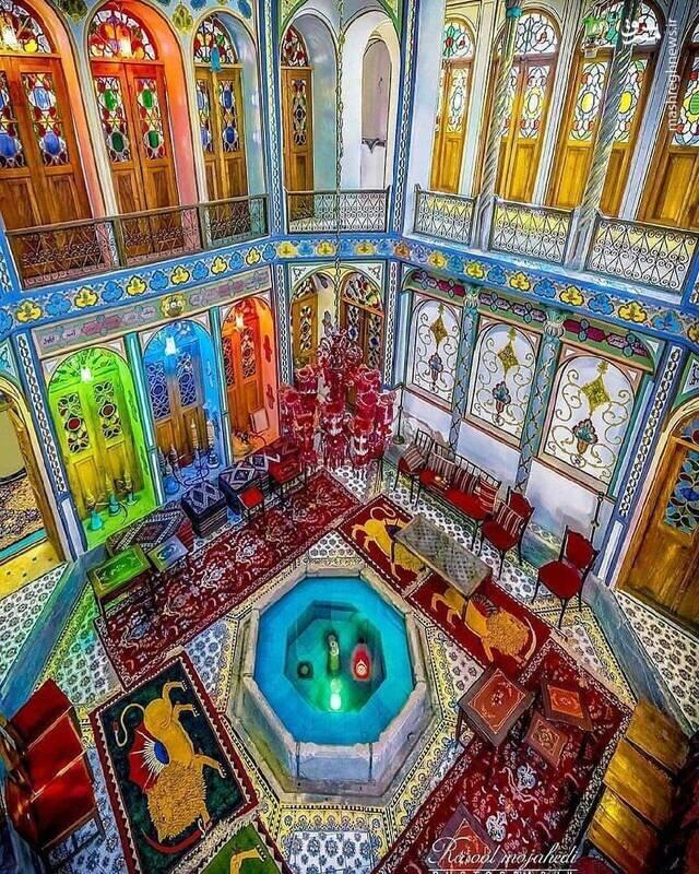 خبرآنلاین - عکس   خانهای پر از رنگ و نور در اصفهان
