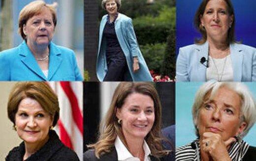 زنان قدرتمند دنیا را بیشتر بشناسیم/ عکس