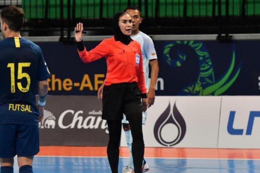 قضاوت داوران زن ایرانی در پلی آف جام جهانی مردان