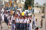 فیلم | جوانان پاکستانی دست از تظاهرات برنمیدارند