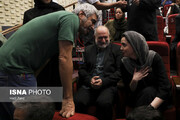 تصاویر   ستارگان سینمای ایران در شب اهدای نشان داوود رشیدی