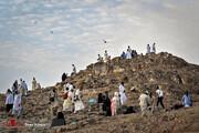 تصاویر | زیارت و بازدیدهای زائران خانه خدا پس از مراسم حج