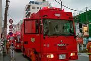 فیلم | آتش سوزی در دفتر مرکزی تویوتا در ژاپن