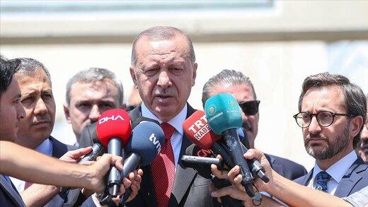 اردوغان: تحولات ادلب باب میل آنکارا نیست/ با ترامپ دیدار می کنم