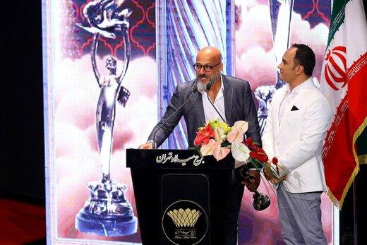 احسان کرمی و امیر آقایی بیست و یکمین جشن سینمای ایران