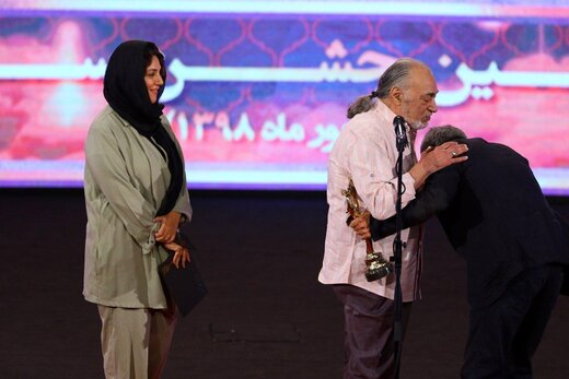 مسعود ولدبیگی در بیست و یکمین جشن سینمای ایران