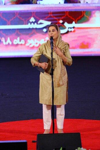 فاطمه معتمدآریا در بیست و یکمین جشن سینمای ایران