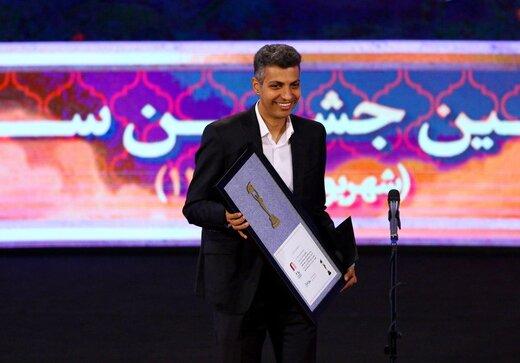 عادل فردوسی پور در بیست و یکمین جشن سینمای ایران