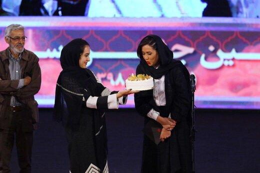 پریناز ایزدیار در بیست و یکمین جشن سینمای ایران