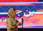آرزوی فاطمه معتمدآریا برای مردم ایران در جشن خانه سینما/ عکس