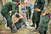 تصاویر | نیروهای سپاه در لباس جهادی