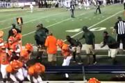 فیلم |تیراندازی وسط مسابقه فوتبال آمریکایی در آلاباما
