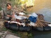 دستگیری صیاد متخلف در شهرستان چگنی/ کشف ۱۱۰ قطعه ماهی