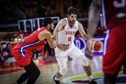 رونمایی از لباس تیم ملی بسکتبال با حضور صمد نیکخواه و حامد حدادی/عکس