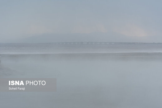 طوفانهای نمکی دریاچه ارومیه