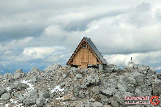 هتلی رایگان با بهترین چشماندازِ جهان، در ارتفاع ۲۵۰۰ متری آلپ!